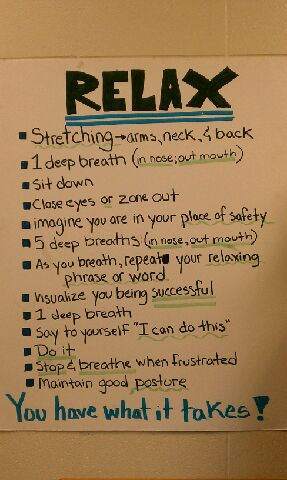 Helping Students Deal With Test Anxiety The Sacred Profession